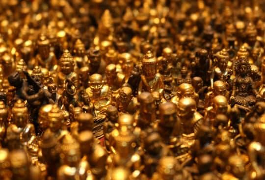 Gold - Beleuchtung
